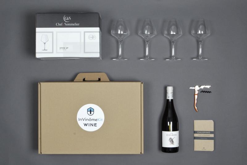 Kit dégustation vin