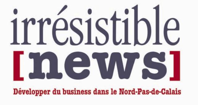 Logotype Irrésistible News