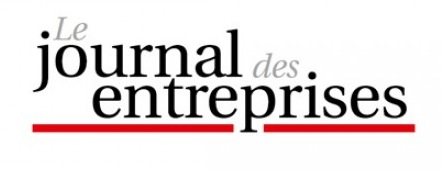 Logotype Journal des Entreprises